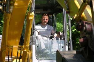 Mark MacDonald, owner of Sandbox Excavating