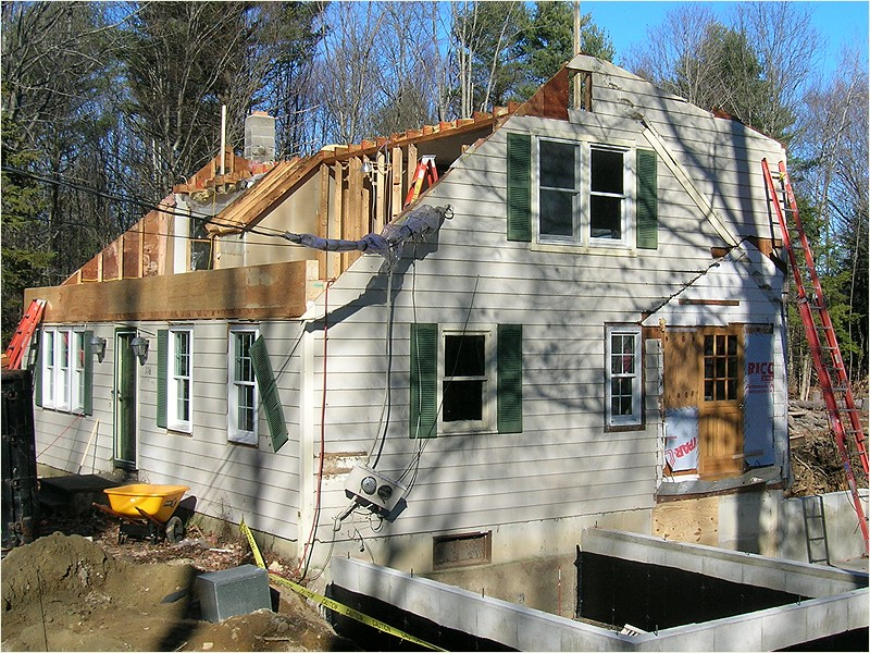 Sandbox excavation excavation services new hampshire for New home construction nh